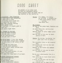 Image of Song Sheet, p.15