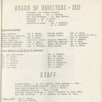 Image of Board of Directors - 196, & Staff, p.2