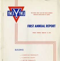 Image of YMCA / YWCA First Annual Report, Feb. 14, 1962