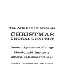 Image of Christmas Choral Concert , p.1