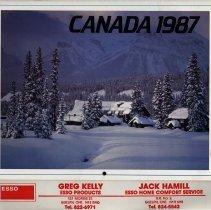 Image of Advertising Calendar 1987