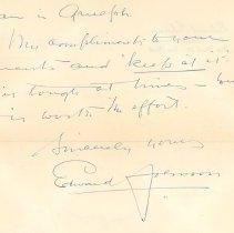 Image of .1 Edward Johnson Letter, p.2