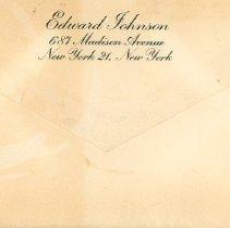 Image of .2 - Envelope back