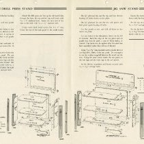 Image of Centre page of Advertisement for Power Tool Stands