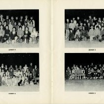Image of Photos of Classes - Junior A and Junior B, pp.8-9