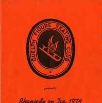 Image of Guelph Figure Skating Club Program, 1974