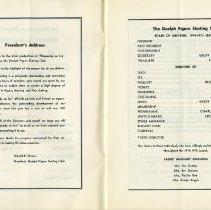 Image of President's Address; Board of  Directors, 1974-75 Season, pp.2-3