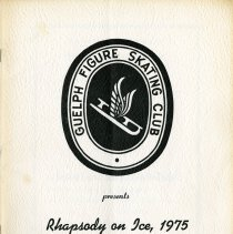 Image of Guelph Figure Skating Club Program, 1975