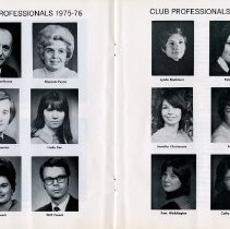 Image of Club Professionals, 1975-76, pp.16-17
