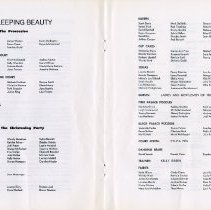 Image of Sleeping Beauty Program, pp.20-21