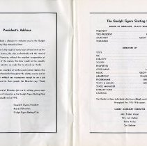 Image of President's Address; Board of Directors, 1975-76 Season, pp.2-3