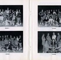 Image of Class Senior B; Coaches, pp.14-15