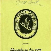 Image of Guelph Figure Skating Club Program, 1976