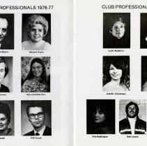 Image of Club Professionals, 1976-77, pp.16-17