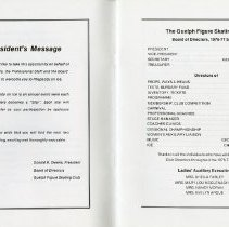 Image of President's Message; Board of Directors, 1976-77 Season, pp.2-3