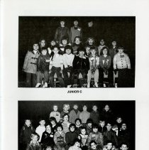 Image of Photographs of Junior C Classes, p.7