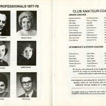 Image of Club Professionals 1977-78; Club Amateur Coaches, pp.22-23
