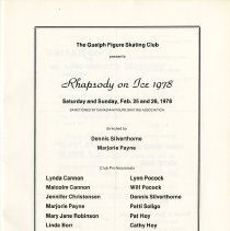 Image of Rhapsody on Ice, February 25 and 26, 1978, p.1
