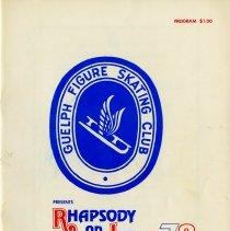 Image of Guelph Figure Skating Club Program, 1978