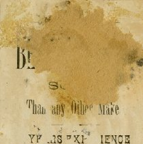 Image of Advertising Card, W. Bell & Co.