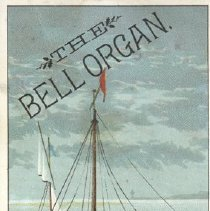 Image of Bell Ad Card with Ship