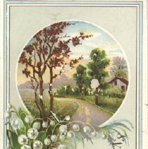 Image of Bell Ad Card Lily of Valley