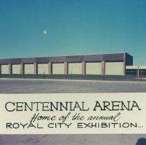 Image of Exterior of Centennial Arena