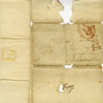 Image of Addressed to Miss J. Kendall, page 4 or back