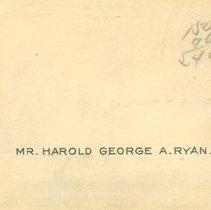 Image of Mr. Ryan Card Envelope