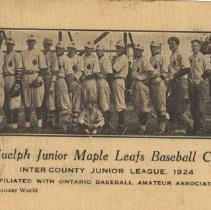 Image of Guelph Junior Maple Leafs