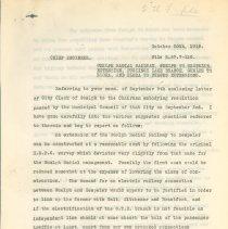 Image of Radial Railway Letter pg. 1