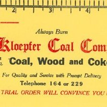 Image of Kloepfer Coal Ad