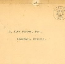 Image of .1 Rifle Association Envelope