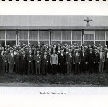 Image of 1970 Photograph of Rotary Club Members, p.9