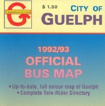 Image of 1992-93 City Bus Map