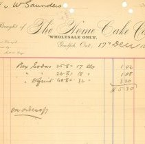 Image of 2002.27.48 - Invoice