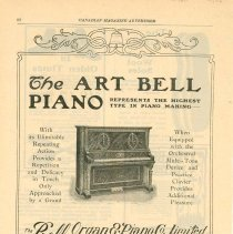 Image of Bell Organ Ad