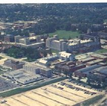 Image of Aerial view of U of G c.1980