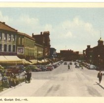 Image of Wyndham St. with Woolworth's