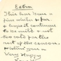 Image of Letter from William Thain