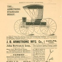 Image of Armstrong Carriage Ad
