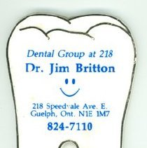 Image of Dr. Britton Ad Magnet