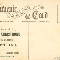 Image of Grant & Armstrong Ad - Back
