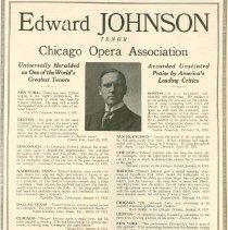 Image of Edward Johnson Booking Ad
