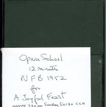 Image of Opera School Video - Case