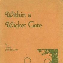 Image of Within A Wicket Gate