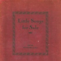 Image of Little Songs For Sale