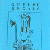 Image of Guelph Regals Program, 1965-66