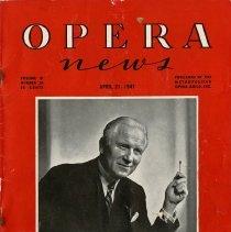 Image of Opera News, April 21, 1947