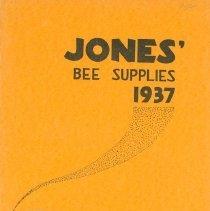 Image of Jone's Bee Supplies, 1937
